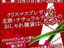 クリスマスイベント第二弾チラシ(web)