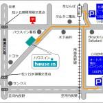 ハウスイン地図